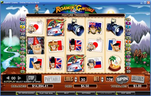 roaming gnome video slot