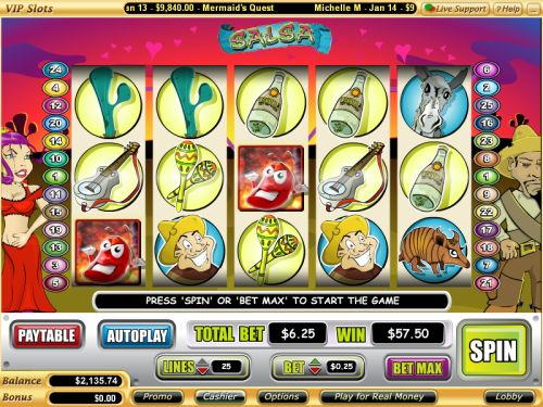 salsa video slot