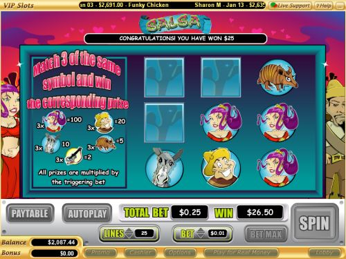salsa casino game