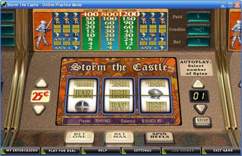 storm the castle classic slot