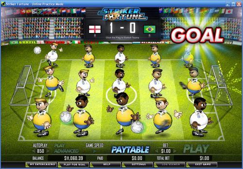 striker fortune slot