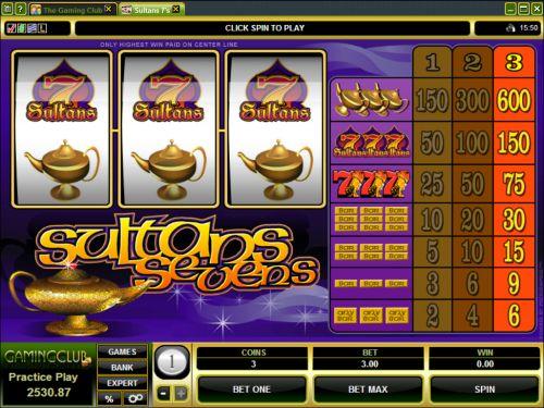 sultan 7s classic slot
