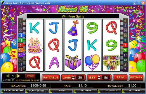 sweet 15 slot