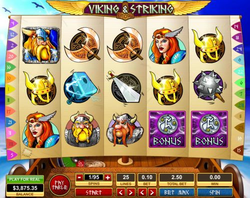 viking striking slot