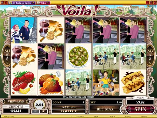 voila video slot