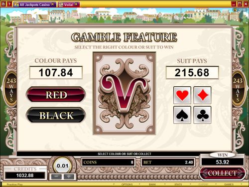 voila video slot flash game