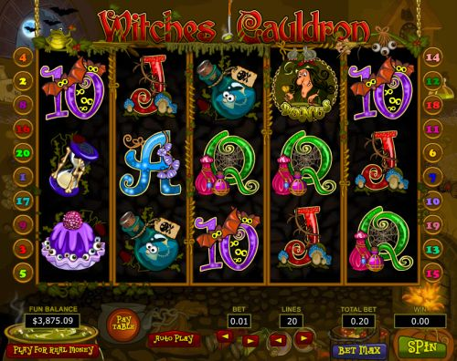 witches cauldron slot
