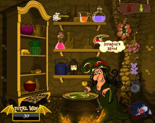 witches cauldron casino game