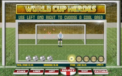 world cup penalty shot soccer game