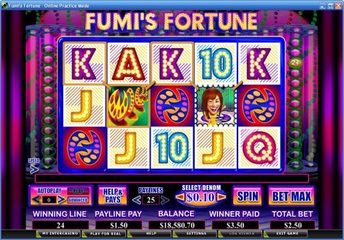 fumis fortune video slot