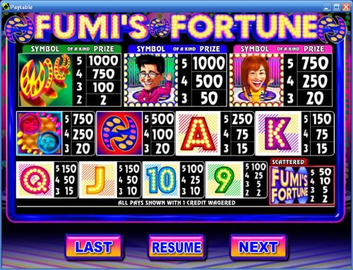 fumis fortune casino game