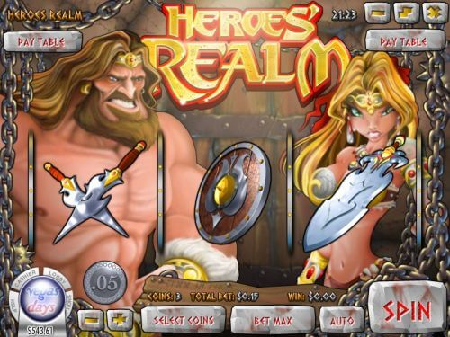 heroes realm classic slot