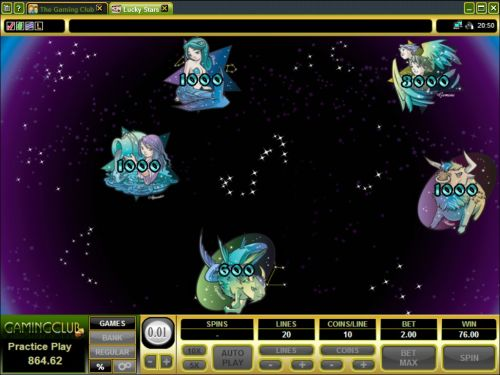 lucky stars video slot