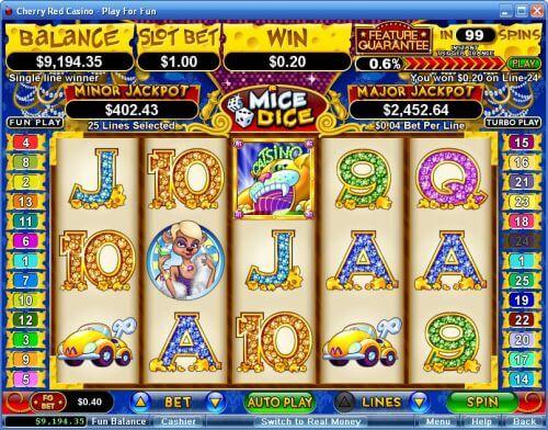 mice dice slot machine