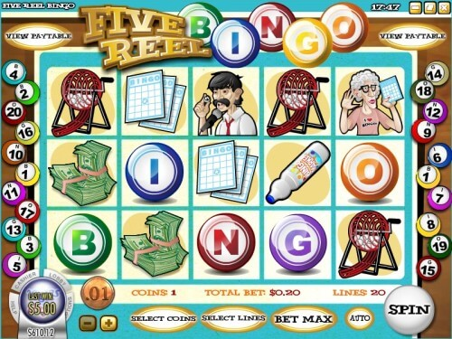 Five Reel Bingo Slot Machine Online ᐈ Rival™ Casino Slots