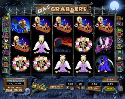 grave grabbers video slot