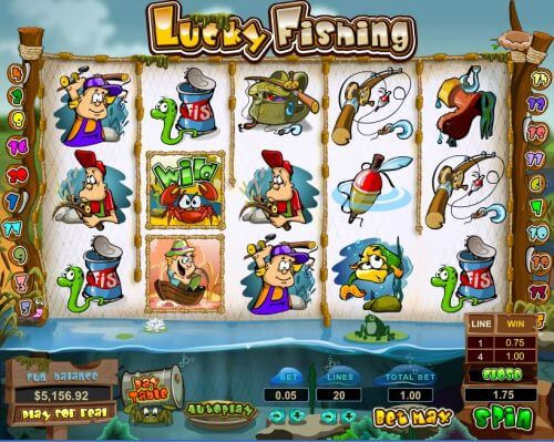 lucky fishing video slot