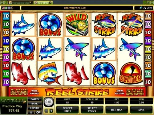 Reel Strike Slot Machine Online ᐈ Microgaming™ Casino Slots
