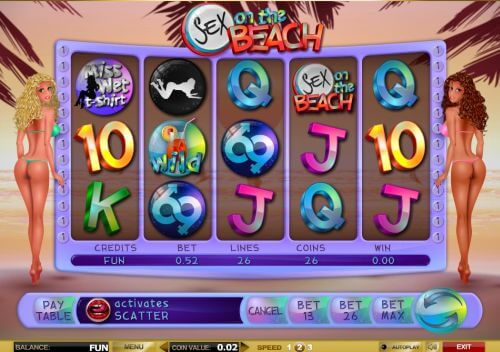 sex on the beach slot