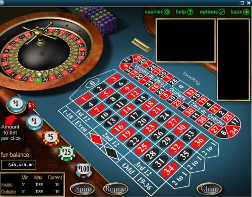 how to play online casino roulette